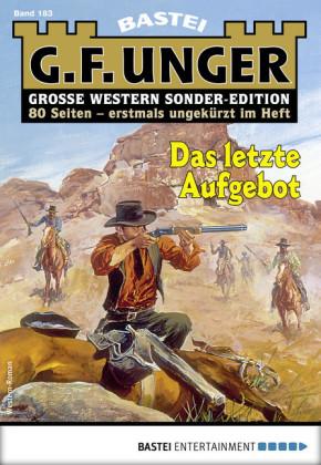 G. F. Unger Sonder-Edition 183 - Western