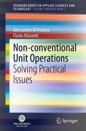 Non-conventional Unit Operations