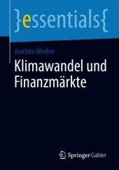 Klimawandel und Finanzmärkte