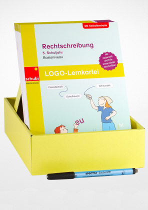 LOGO-Lernkartei - Rechtschreibung