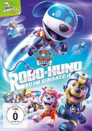 Paw Patrol: Robo-Hund im Einsatz, 1 DVD