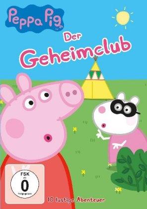 Peppa Pig - Der Geheimclub, 1 DVD