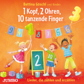 1 Kopf, 2 Ohren, 10 tanzende Finger, Audio-CD Cover