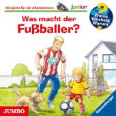 Was macht der Fußballer?, Audio-CD Cover