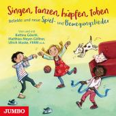 Singen, tanzen, hüpfen, toben, Audio-CD Cover