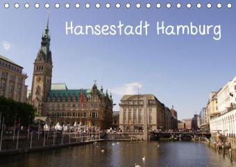 Hansestadt Hamburg (Tischkalender 2021 DIN A5 quer)