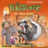 Flätscher - Von Lehrern umzingelt, 1 Audio-CD Cover