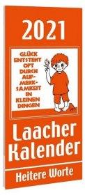 Laacher Kalender Heitere Worte 2021 Cover