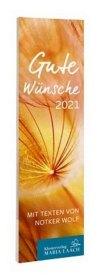 Lesezeichenkalender - Gute Wünsche 2021