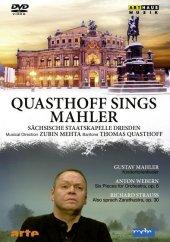 Quasthoff sings Mahler, 1 DVD
