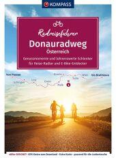 KOMPASS RadReiseFührer Erlebnis Donauradweg Österreich