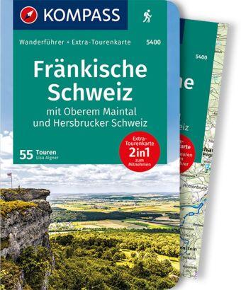 KOMPASS Wanderführer Fränkische Schweiz mit Oberem Maintal und Hersbrucker Schweiz