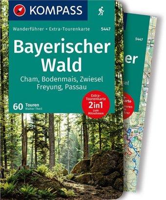 KOMPASS Wanderführer Bayerischer Wald, m. 1 Karte