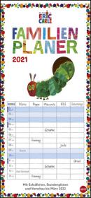 Die kleine Raupe Nimmersatt Familienplaner 2021