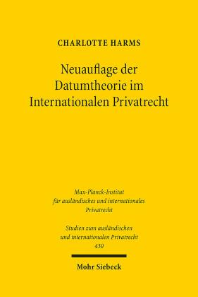 Neuauflage der Datumtheorie im Internationalen Privatrecht