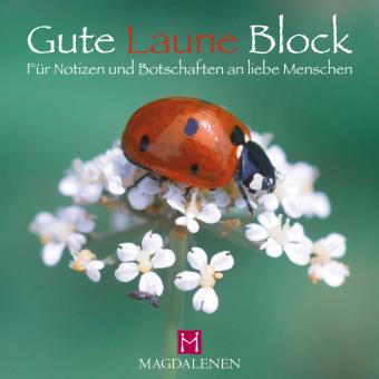 Gute Laune Block - Marienkäfer