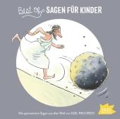 Best of Sagen für Kinder, 1 Audio-CD Cover