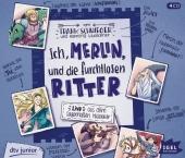 Ich, Merlin, und die furchtlosen Ritter, 4 Audio-CD Cover