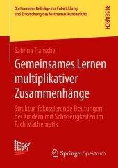 Gemeinsames Lernen multiplikativer Zusammenhänge