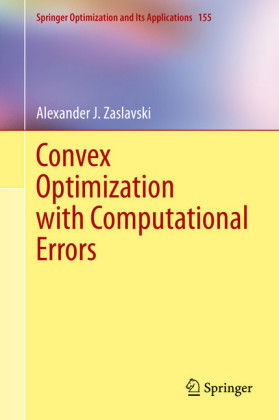 Convex Optimization with Computational Errors