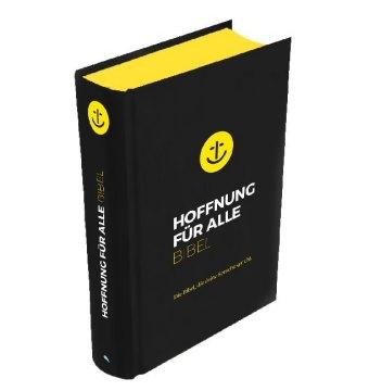 """Hoffnung für alle. Die Bibel - """"Black Hope Edition"""" - Mittelformat mit Banderole"""