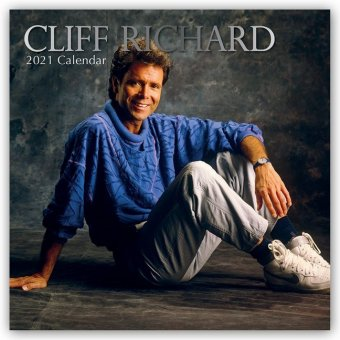 Cliff Richard 2021 - 16-Monatskalender