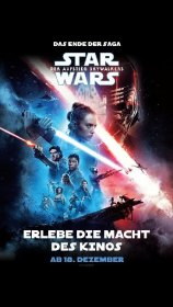 Star Wars: Der Aufstieg Skywalkers, 1 DVD Cover