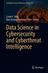 Data Science in Cybersecurity and Cyberthreat Intelligence