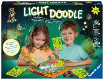 Light Doodle Dinosaurs