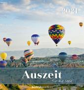 Auszeit für die Seele 2021 - Postkartenkalender 16x17 cm - Zen - zum aufstellen oder aufhängen - Geschenk-Idee - Gadget