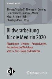 Bildverarbeitung für die Medizin 2020
