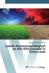 Lokale Anpassungsfähigkeit an den Klimawandel in Timor-Leste