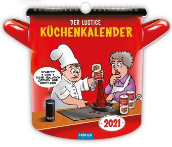 """""""Der lustige Küchenkalender"""" 2021"""