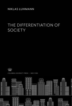 The Differentiation of Society