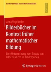 Bilderbücher im Kontext früher mathematischer Bildung