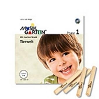 Musikgarten 1 - Tierwelt - Familienpaket