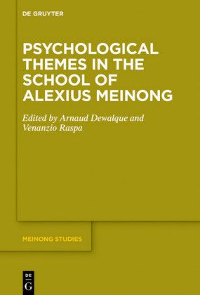 Psychological Themes in the School of Alexius Meinong