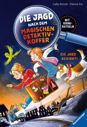 Die Jagd nach dem magischen Detektivkoffer: Die Jagd beginnt! Cover