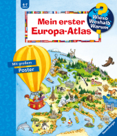 Mein erster Europa-Atlas Cover