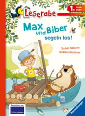 Max und Biber segeln los! Cover