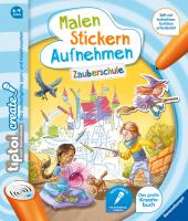 tiptoi® CREATE Malen Stickern Aufnehmen: Zauberschule Cover