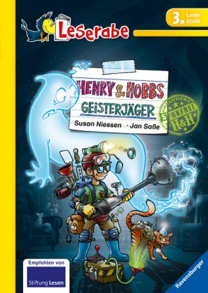 Leserabe - 3. Lesestufe: Henry & Hobbs. Geisterjäger