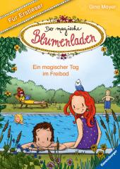 Der magische Blumenladen für Erstleser: Ein magischer Tag im Freibad Cover