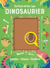 Das Buch mit der Lupe: Dinosaurier Cover