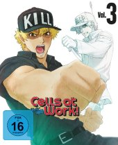 Cells at Work!, 1 Blu-ray + 1 DVD
