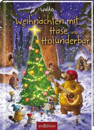 Weihnachten mit Hase und Holunderbär
