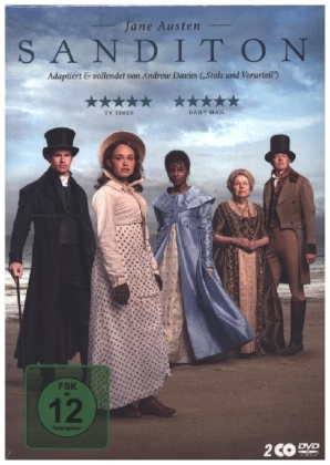 Jane Austen: Sanditon, 2 DVD