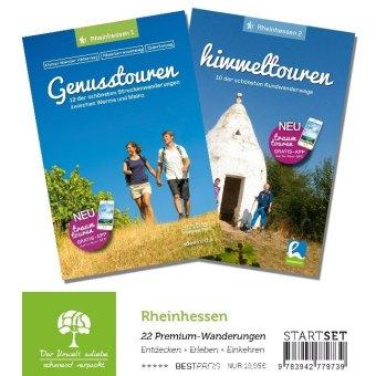 Rheinhessen-StartSet mit 2 Bänden - Premium-Wandern, 2 Teile