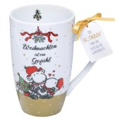 Tasse Weihnachten ist ein Gefühl