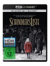 Schindlers Liste 4K, 1 UHD-Blu-ray + 2 Blu-ray